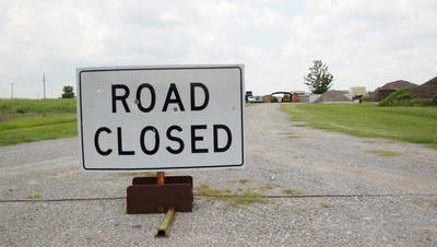Parts of two Lafayette Parish roads are closed this week.