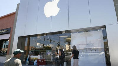 The Apple store in Palm Desert.