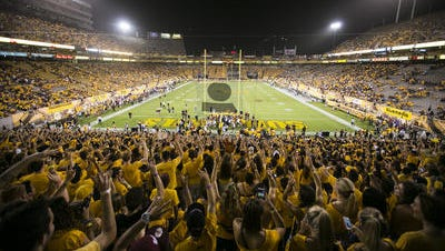 ASU students paying $75 per semester for an athletic fee boosted athletic department revenue in 2014-15 to a record $84 million.