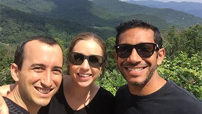 From left: Elite HRV co-founder and CEO Jason Moore, co-founder and COO Alyssa Moore and Chief Commercial Officer Vivek Menon.