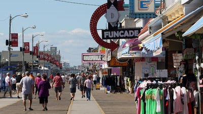 File photo of the boardwalk in Wildwood.