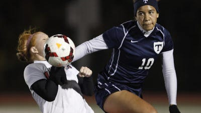 Marley Jarvis of Webster Thomas was one of nine Section V players to earn first-team all-state honors in girls soccer.