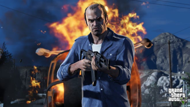 Trevor is the main character in the game 'Grand Theft Auto V.'