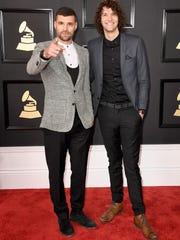Grammy Award-winning Christian pop duo For King & Country will perform at the Wilmington Flower Market at 6 p.m. Friday.