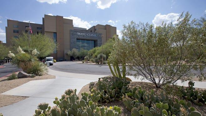 The Mayo Clinic Hospital in northeast Phoenix.