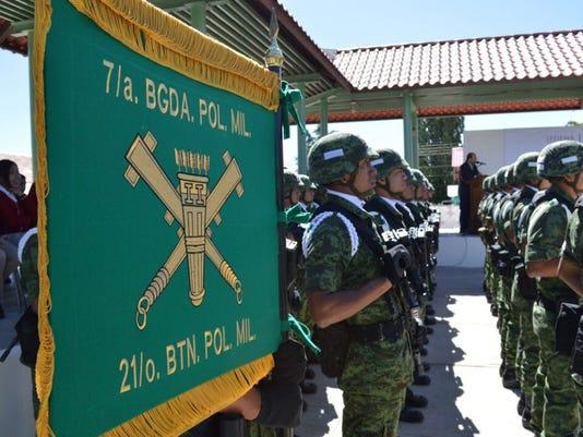 Guachochi soldiers