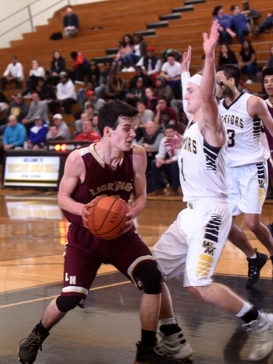 Watkins Memorial 54, Licking Heights 37
