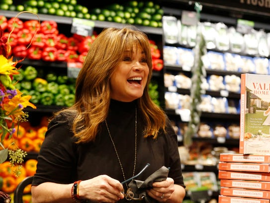 Actress Valerie Bertinelli greets fans before signing