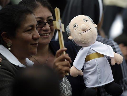 Ecuador Pope