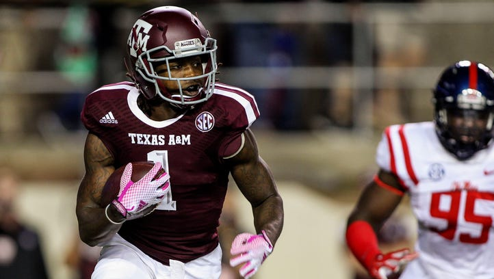 Oct 11, 2014: Texas A&M Aggies running back Brandon