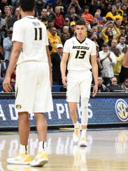 Missouri Tigers forward Michael Porter Jr. looks to