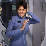 """""""More in Heaven and Earth"""" -- EXTANT: CBSâ��s new summer series EXTANT is a mystery thriller starring Academy Award-winner Halle Berry as â��Molly Woods,â�� a female astronaut trying to reconnect with her family after returning from a year in outer space. Her mystifying experiences in space lead to events that will ultimately change the course of human history. EXTANT premieres Wednesday, July 9 (9:00-10:00 PM, ET/PT).Coverage of the CBS series EXTANT, scheduled to air on the CBS Television Network.  Photo: Sonja Flemming/CBS �©2014 CBS Broadcasting, Inc. All Rights Reserved [Via MerlinFTP Drop]"""