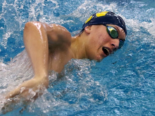 Whitnall Boys Swimming at Woodland Championships