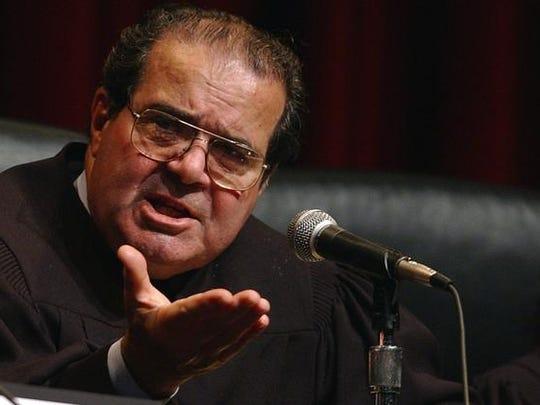 The late U.S. Supreme Court Justice Antonin Scalia