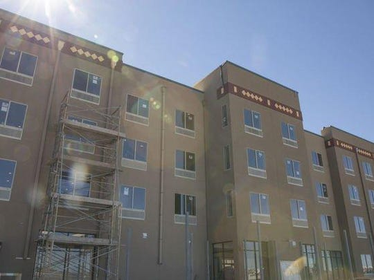 The Hotel at Sunland Park is franchised by Comfort Inn and Suites and has custom-built furnishings in each room.