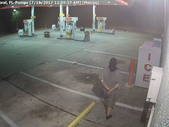 Police are looking for this man, suspected of robbing