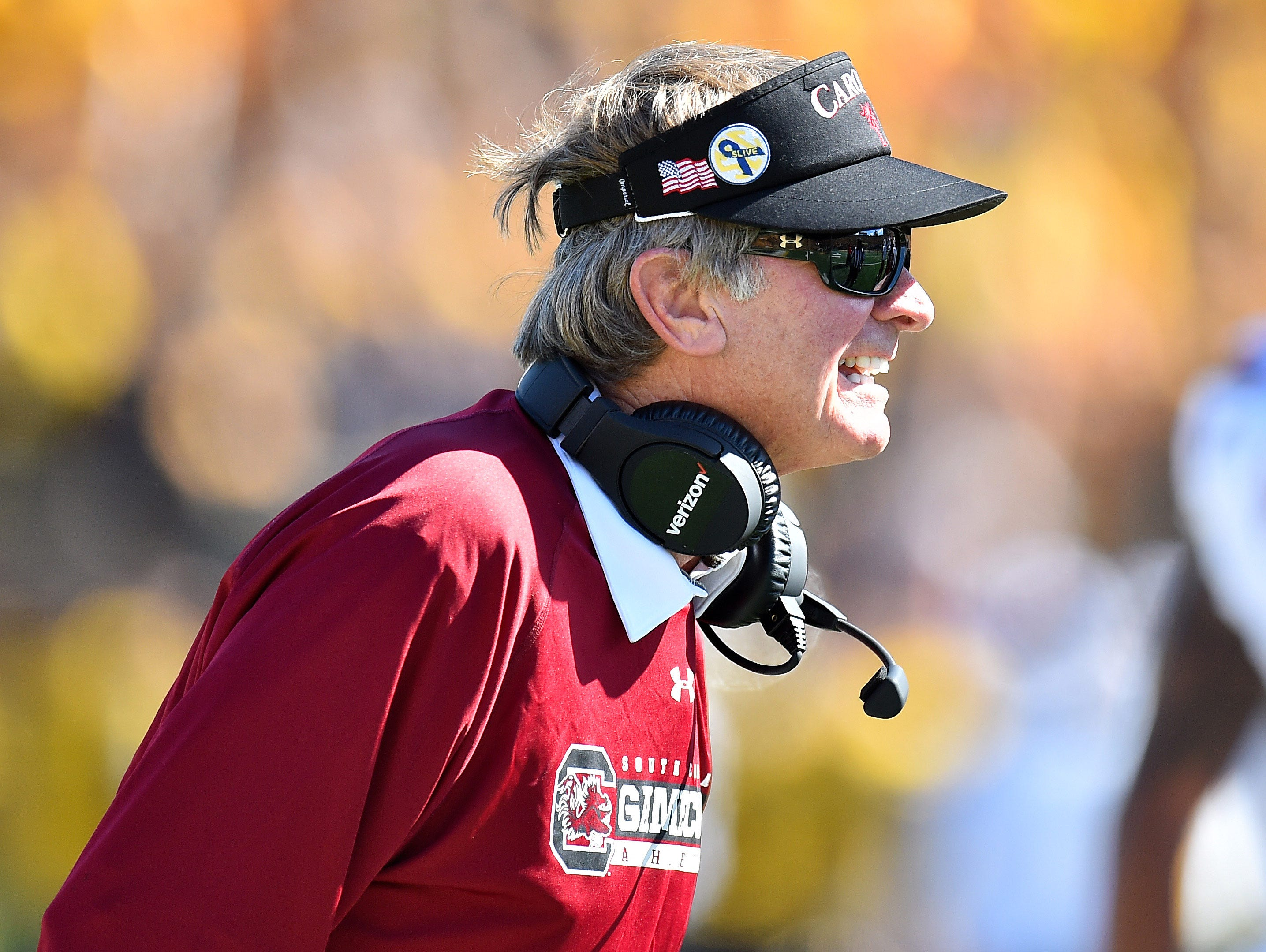 Steve Spurrier was in his 11th season at South Carolina.