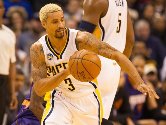 NBA: Phoenix Suns at Indiana Pacers