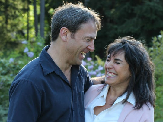 Craig Weiner and his wife, Alina Frank.