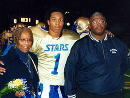 Larry Fitzgerald family