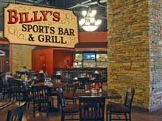 Billy's Sports Bar and Grill at Ruidoso Downs Racetrack and Casino.
