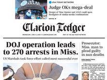 Clarion Ledger named best large newspaper in Mississippi by MPA, wins 26 awards