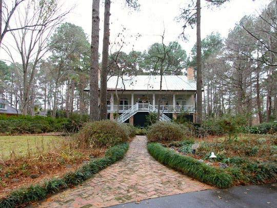 This three-story home sits on 1.25 acres in south Shreveport.