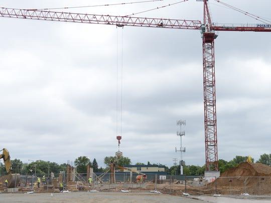 Construction continues on Lodge Kohler four-diamond