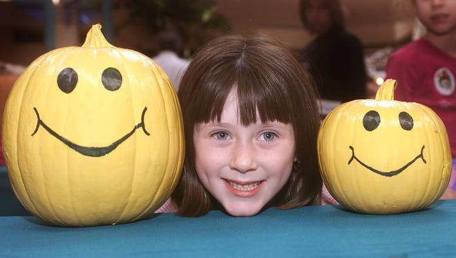 Pumpkins make good pals, so share your photos via Twitter (@CPSJ) or Instagram using the hashtag #cpgreatpumpkin. The photo-contest winner will get a family four-pack of movie tickets.