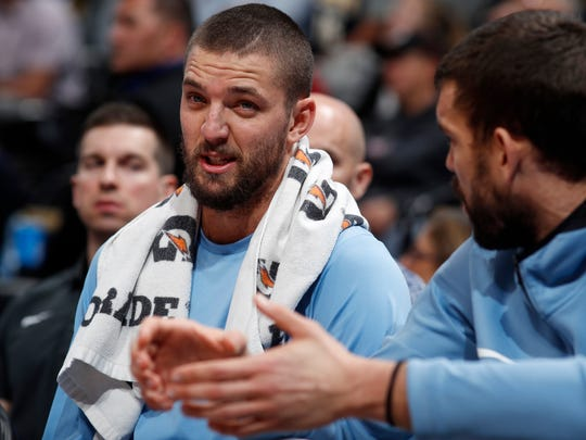 A healthy Chandler Parsons would contribute to a successful Grizzlies season.