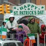 In this file photo, participants ride a float during the annual Morris County St. Patrick's Day parade in Morristown.