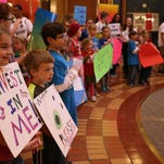7 photos: Rally for state education funding at the Capitol