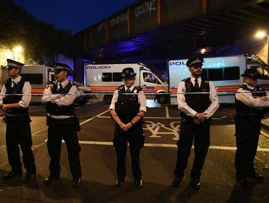 Casualties Reported After Van Strikes worshippers Leaving Ramadan Prayers in London