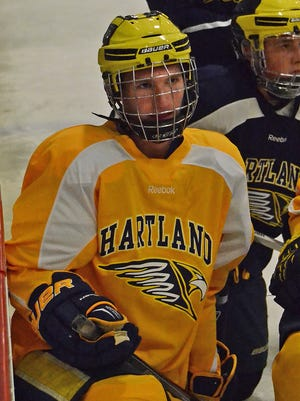 Hartland junior Josh Albring had 34 goals and 47 assists last season as part of a powerful first line.