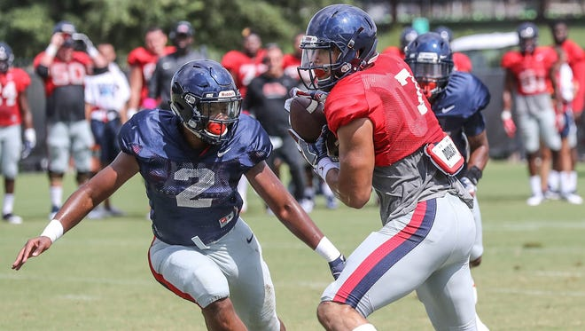 Jason Pellerin has been quite the hybrid player for Ole Miss. Now his skills are being utilized at tight end.