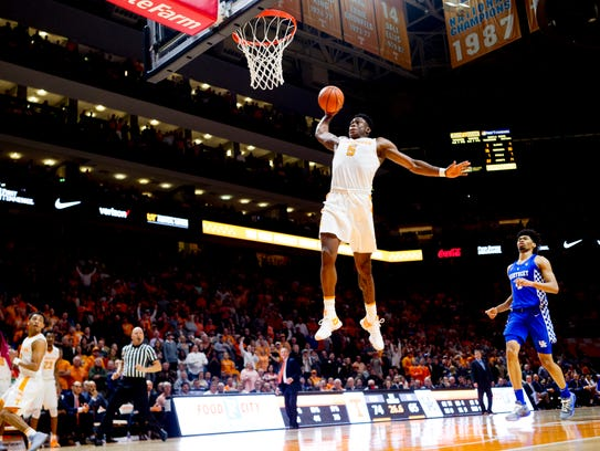 Uk Basketball Uk Vs Tenn: UT Vols: Tennessee Basketball Gets 3rd Straight Home Win