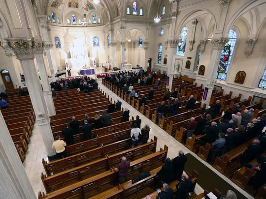 """St. Peter's Catholic Church will have a """"soft opening"""" of in-person services beginning Memorial Day."""