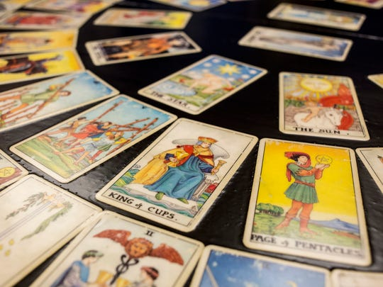 Tarot readings are one of the offerings this weekend at the Victory of Light Psychic Festival.