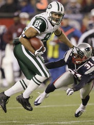 In this Nov. 13, 2008 file photo, New York Jets tight