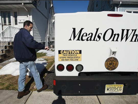 Joseph Wall, a Meals On Wheels driver for 26 years,