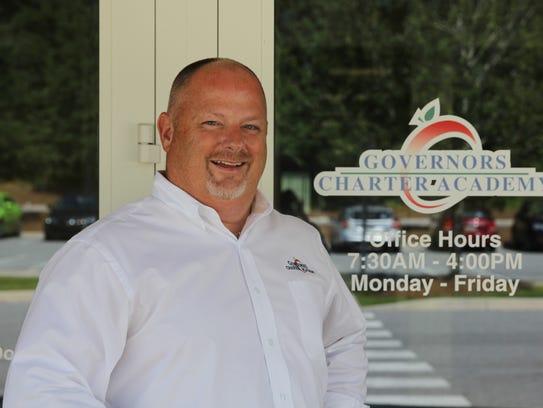James Simpson, Governor's Charter principal, took the