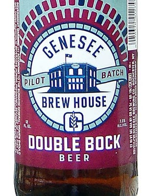 Genesee Double Bock, from Genesee Brewing Co. in Rochester, N.Y., is 7% ABV.