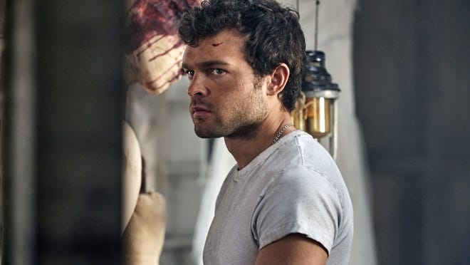 "Alden Ehrenreich stars as John the Savage in ""Brave New World,"" a new series on the new streaming service Peacock."