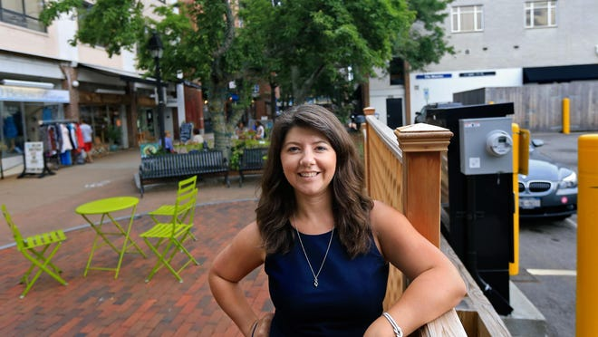 Rebecca Perkins Kwoka of Portsmouth was endorsed by Emily's List and LPAC in the state Senate District 21 Democratic primary.