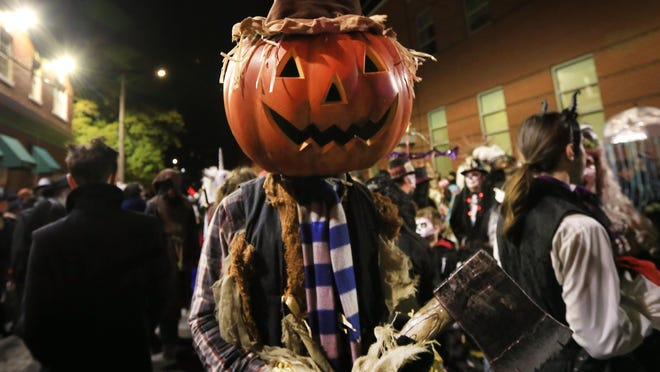 The 2018 Portsmouth Halloween Parade.