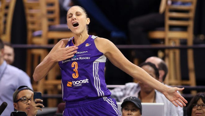 Phoenix Mercury guard Diana Taurasi won't play in 2015.