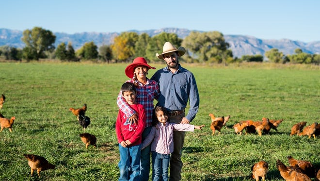 EZ Does It Farm is located in the heart of the Gila River Valley, 30 miles northwest of Silver City.  Nestled among hundred-year-old cottonwoods, the 30-acre farm is home to the Casillas family, Nevadith and Horacio and their children Elena and Heliel.