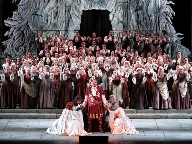 THE MET: LIVE IN HD is happy to present Idomeneo