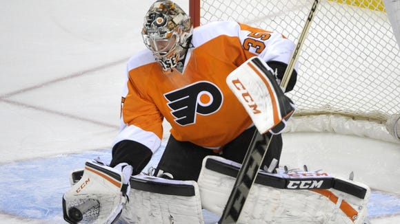 Steve Mason will make his first start of the series in Game 4.
