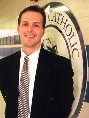 Jon Cooper , Lansing Catholic Central Hockey coach.